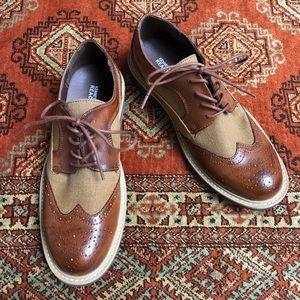 Kenneth Cole Reaction 2-tone oxford shoe Take Fair